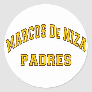 マルコスDe Niza Padres ラウンドシール