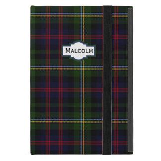 マルコムのタータンチェック格子縞のカスタムのiPad Miniケース iPad Mini ケース
