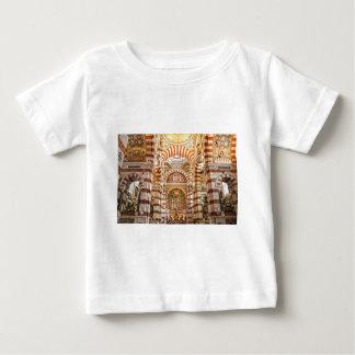 マルセーユのカテドラルのNotre Dame deのla garde ベビーTシャツ