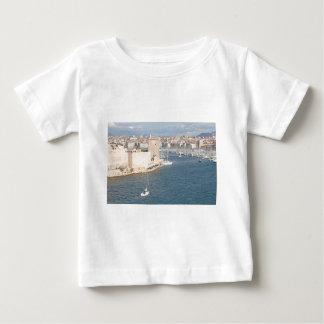 マルセーユの古い港 ベビーTシャツ