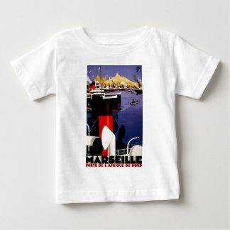 マルセーユのporte de l'Afrique duのnord ベビーTシャツ