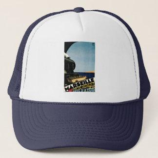マルセーユまたはCote d'Azurのヴィンテージ旅行ポスター キャップ