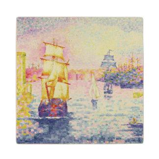 マルセーユ、c.1909 (キャンバスの油)の港 ウッドコースター
