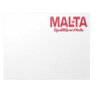 マルタのカスタムのメモ帳 ノートパッド
