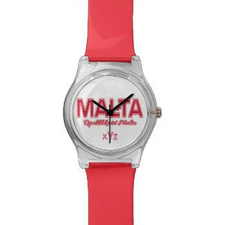 マルタのカスタムの腕時計 腕時計