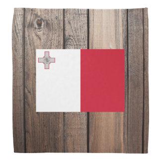 マルタの国旗 バンダナ