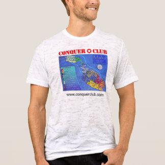 マルタの地図 Tシャツ