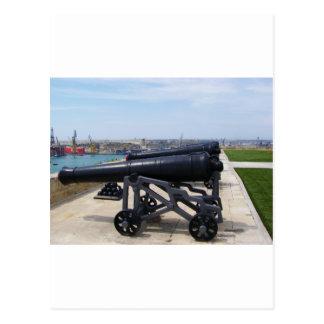 マルタの大砲 ポストカード