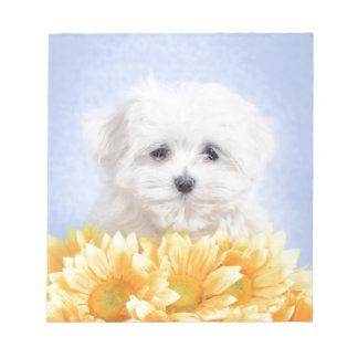 マルタの子犬 ノートパッド