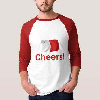 マルタの応援! Tシャツ