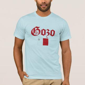 マルタの旗とのGozo Tシャツ