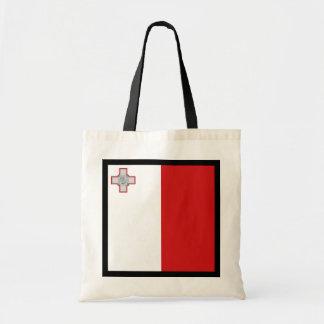 マルタの旗のバッグ トートバッグ