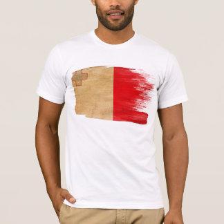 マルタの旗のTシャツ Tシャツ