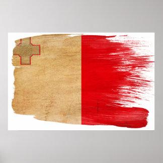 マルタの旗ポスター ポスター