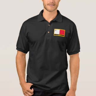 マルタの旗 ポロシャツ
