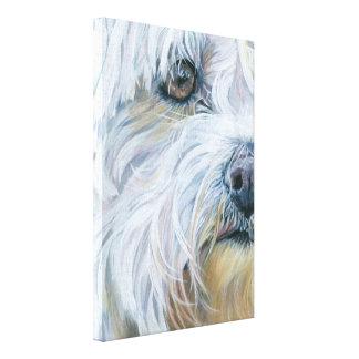 マルタの芸術犬の絵画 キャンバスプリント