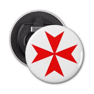 マルタのtemplar騎士赤十字の宗教の記号 栓抜き