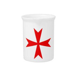 マルタ十字の変形 ピッチャー