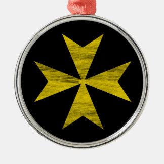マルタ十字 メタルオーナメント