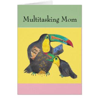 マルチタスクお母さん- toucansとのおもしろカード カード
