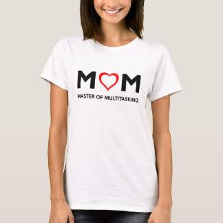 マルチタスクTシャツの母の日のお母さんのマスター Tシャツ