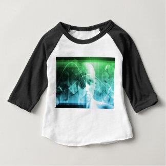 マルチメディア技術のデジタル装置情報 ベビーTシャツ