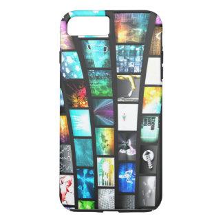 マルチメディア技術のデジタル装置情報 iPhone 8 PLUS/7 PLUSケース