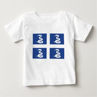 マルティニクの旗 ベビーTシャツ