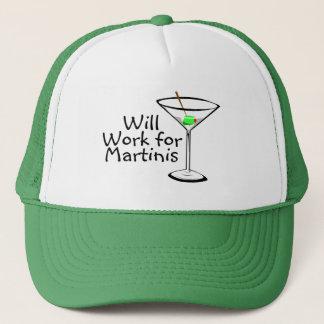 マルティーニのために働きます キャップ
