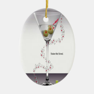 マルティーニのガラスデザイン セラミックオーナメント