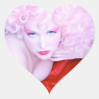 マルティーニの汚れたバレンタインのステッカー ハートシール