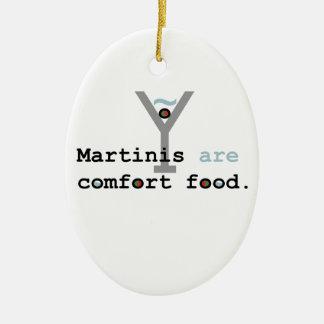 マルティーニは心地よいの食糧です セラミックオーナメント