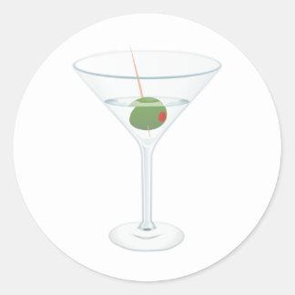 マルティーニガラスのイメージ ラウンドシール