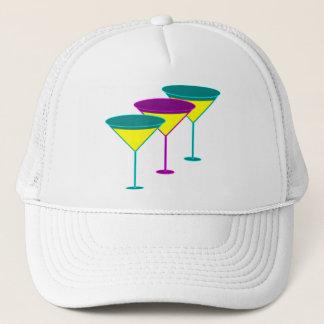 マルティーニガラスの女性だけのパーティーの帽子 キャップ