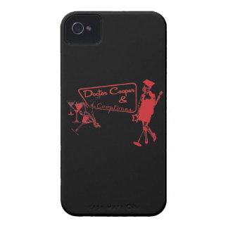 マルティーニ及び音楽-赤くおよび黒いiPhoneの箱 Case-Mate iPhone 4 ケース