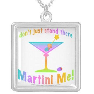 マルティーニ私ネックレス シルバープレートネックレス