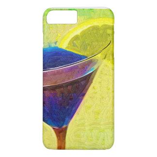マルティーニ青いIPHONEの箱 iPhone 8 PLUS/7 PLUSケース
