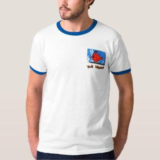 マレットCDカバー芸術のポケット Tシャツ
