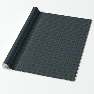 マレーのスコットランドのタータンチェック格子縞の包装紙 ラッピングペーパー