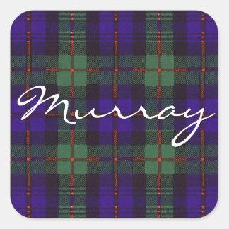 マレーのスコットランド人のタータンチェック スクエアシール