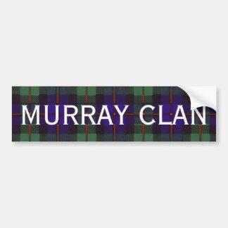 マレーのスコットランド人のタータンチェック バンパーステッカー