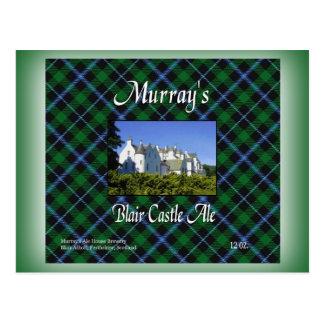 マレーのブレアの城のエール ポストカード