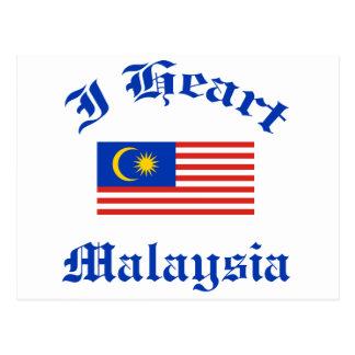 マレーシアのデザイン ポストカード