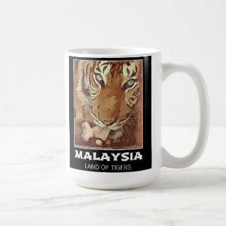 マレーシアのトラのマグ コーヒーマグカップ