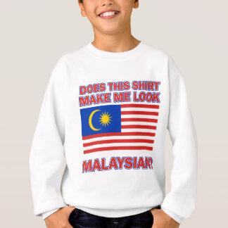 マレーシアの旗のデザイン スウェットシャツ