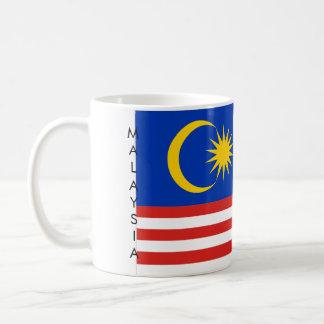 マレーシアの旗のマグ コーヒーマグカップ