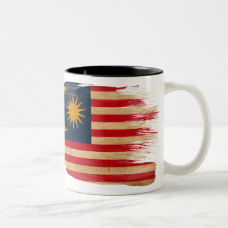 マレーシアの旗のマグ ツートーンマグカップ