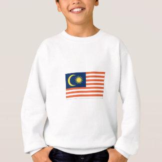 マレーシアの旗 スウェットシャツ