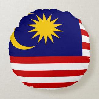 マレーシアの旗 ラウンドクッション