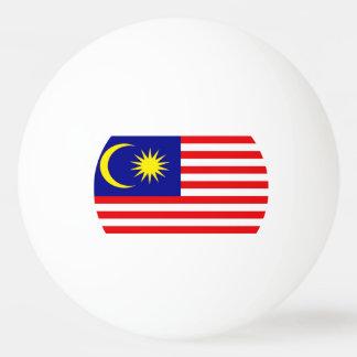 マレーシアの旗 卓球ボール